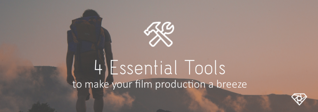 4 Tools 1024x361 - 4 Essential Tools to Make Your Film Production a Breeze - tools-equipment