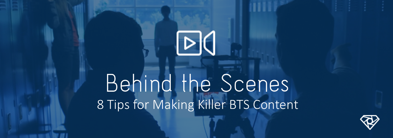 BTS Content - 8 Tips For Making Killer Behind-The-Scenes Content - on-set