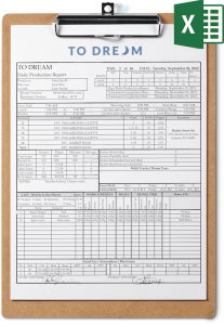 Free Daily Production Report Template Download for Excel