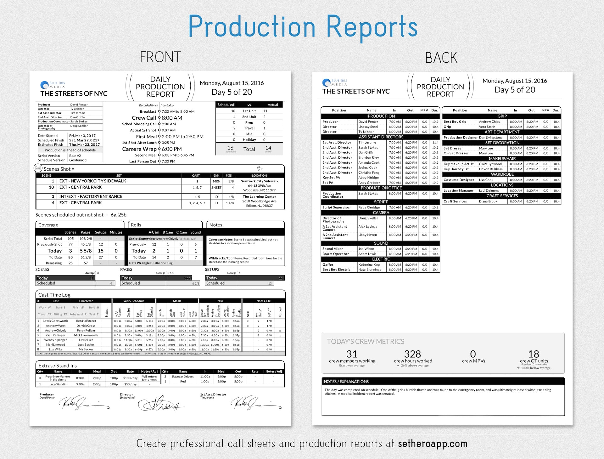Daily production report template medium sethero daily production report template medium maxwellsz