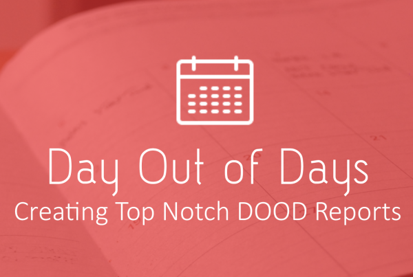 DOOD Creation 600x403 - Creating A Day out of Days Report - Free Template - production-office, free-downloads