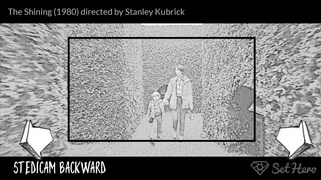Stedicam Camera Shot Storyboard The Shining by Stanley Kubrick SetHero - 7 Types of Camera Movement (and When To Use Them) - technique, cinematography