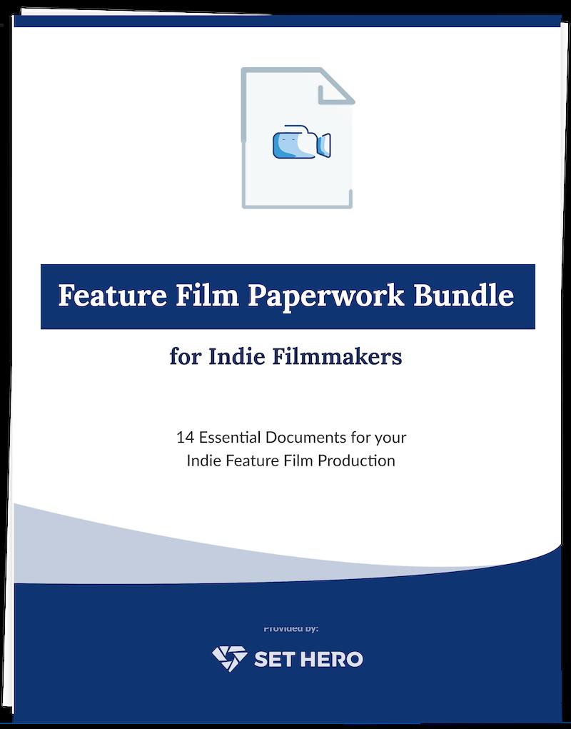 Feature Film Templates Bundle - 14 Essential Documents