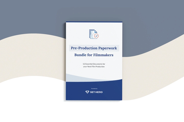 Pre-Production Paperwork Bundle for Filmmakers